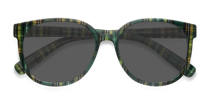 Green Dundee -  Plastic Sunglasses