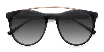 Black Miami Vice -  Acetate Sunglasses