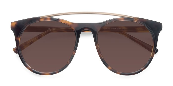 Tortoise Miami Vice -  Acetate Sunglasses