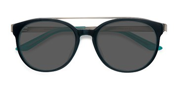 Navy silver Morning Breeze -  Acetate Sunglasses