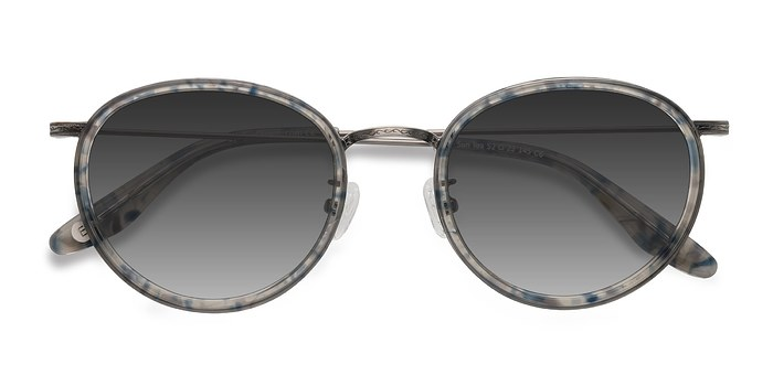 Blue Clear  Sun Tea -  Acetate Sunglasses