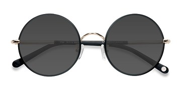 Black Mojo -  Vintage Acetate Sunglasses