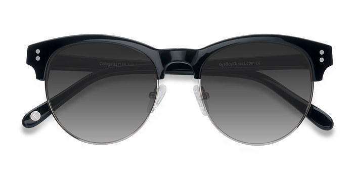 Black College -  Acetate Sunglasses
