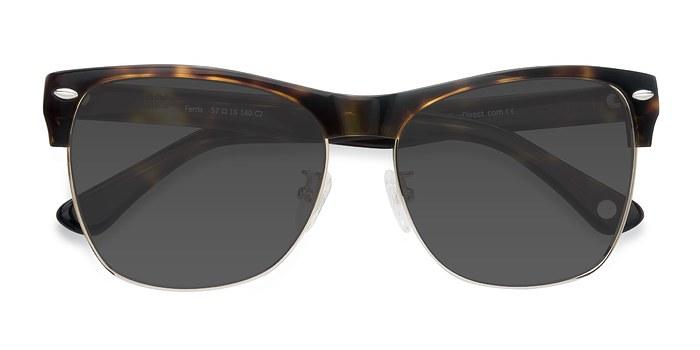 Tortoise Ferris -  Acetate Sunglasses