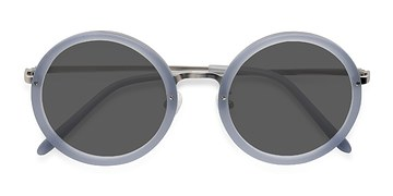 Light Blue Well -  Acetate Sunglasses