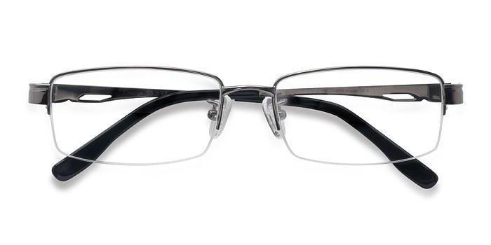 Gunmetal Emerge -  Designer Titanium Eyeglasses