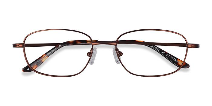 Coffee  Setup -  Lightweight Titanium Eyeglasses