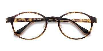 Tortoise Darcy -  Lightweight Plastic Eyeglasses