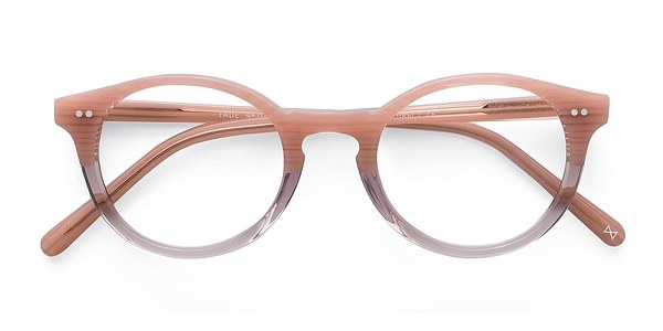 Translucent Striated Rose Fade - Rflkt Eyeglasses