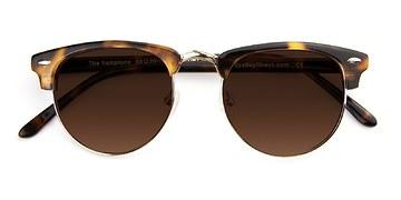 Golden Tortoise The Hamptons -  Acetate Sunglasses