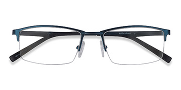 Navy Furox -  Metal Eyeglasses