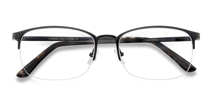Black Paradox -  Metal Eyeglasses