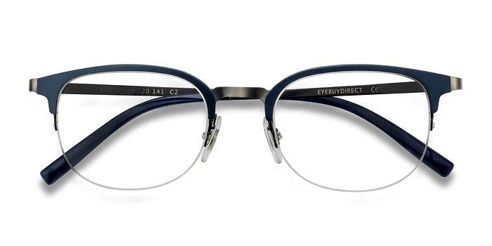 Navy Axiom -  Metal Eyeglasses