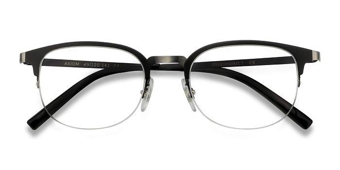 Black Axiom -  Metal Eyeglasses