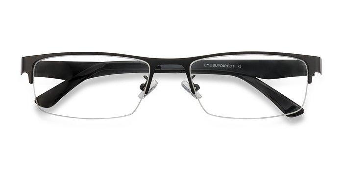 Black Beau -  Metal Eyeglasses