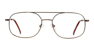 Bronze Branson -  Geek Metal Eyeglasses