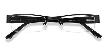Black Bud -  Metal Eyeglasses