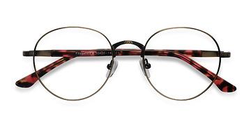 Bronze Fitzgerald M -  Metal Eyeglasses