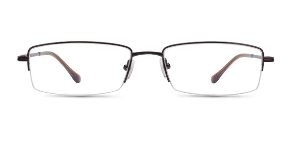 Minneapolis Brown Metal Eyeglasses EyeBuyDirect