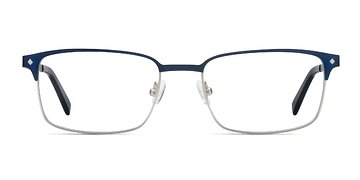 Navy Normandy -  Metal Eyeglasses