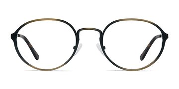 Bronze Come Around -  Designer Metal Eyeglasses