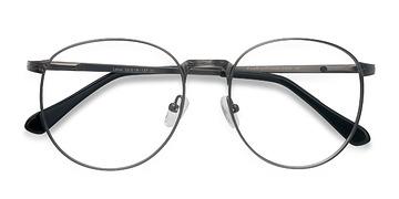 Gunmetal Lotus -  Metal Eyeglasses
