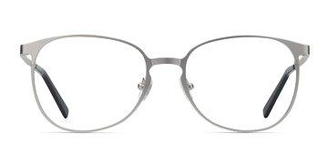 Silver Twisted -  Metal Eyeglasses
