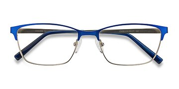 Blue Cascade -  Metal Eyeglasses