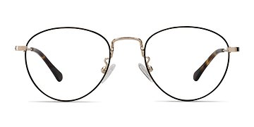 Black Taipei -  Metal Eyeglasses