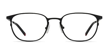 Black Plateau M -  Metal Eyeglasses