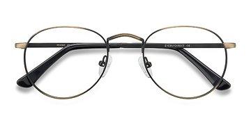 Bronze Pensive -  Metal Eyeglasses