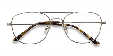 Silver Captain -  Geek Metal Eyeglasses