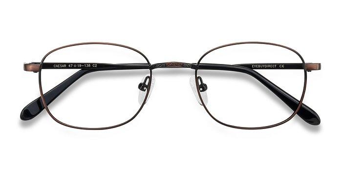 Aubergine Caesar -  Geek Metal Eyeglasses