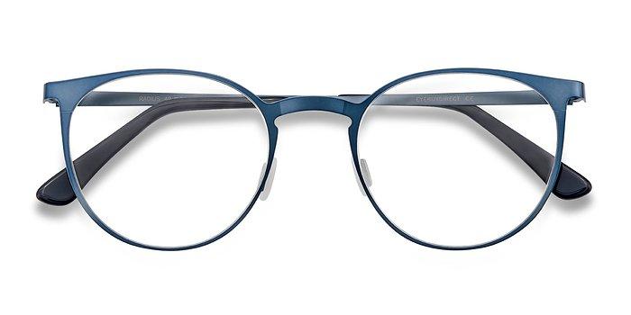 Blue Radius -  Metal Eyeglasses