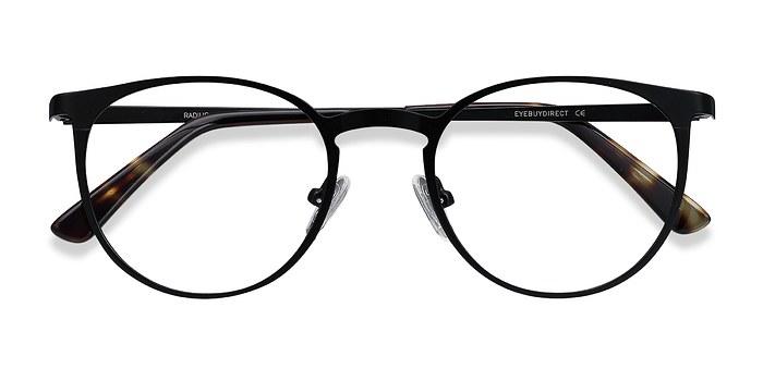 Black Radius -  Metal Eyeglasses