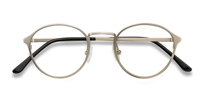 Silver Rising -  Metal Eyeglasses
