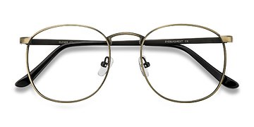 Bronze Closer -  Metal Eyeglasses