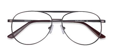 Gunmetal Discover -  Metal Eyeglasses