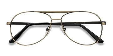 Bronze Discover -  Metal Eyeglasses