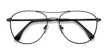 Dark Navy Westbound -  Metal Eyeglasses