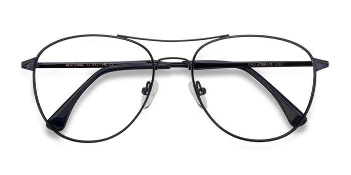 Dark Navy Westbound -  Metal Eyeglasses