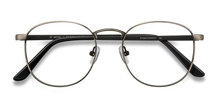 Gunmetal St Michel -  Metal Eyeglasses
