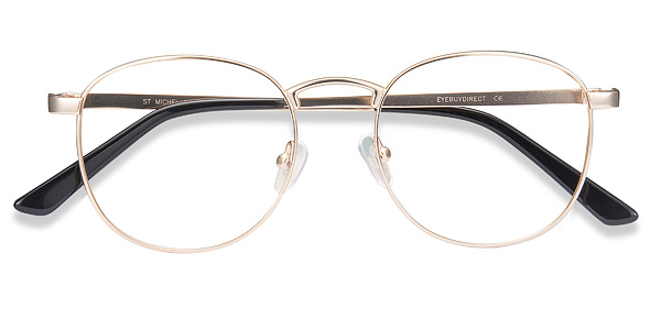 Golden St Michel -  Metal Eyeglasses