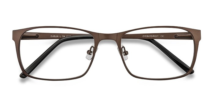 Coffee Dublin -  Metal Eyeglasses