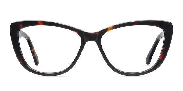 Eyeglass Frames In Charlotte Nc : Charlotte Tortoise Women Acetate Eyeglasses EyeBuyDirect