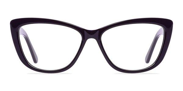 Eyeglass Frames In Charlotte Nc : Charlotte Purple Women Acetate Eyeglasses EyeBuyDirect