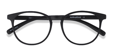 Black Chilling -  Geek Plastic Eyeglasses