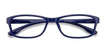 Navy  Versus -  Classic Plastic Eyeglasses