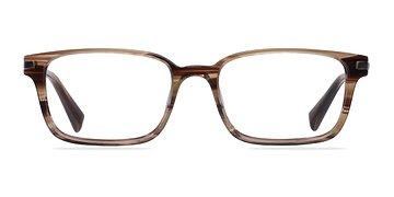 Brown/Striped Dreamer -  Fashion Acetate Eyeglasses