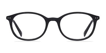 Black Get Around -  Fashion Wood Texture Eyeglasses